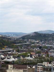 Ausblick vom Oberen Schloss Richtung Kreuztal