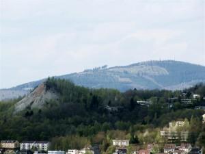 Ausblick vom Oberen Schloss in Siegen