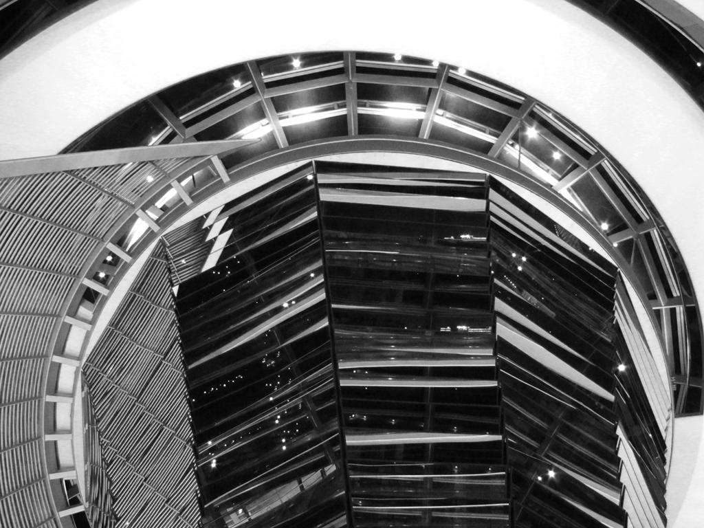 Architektur - Berliner Machtzentrum - Bundestag