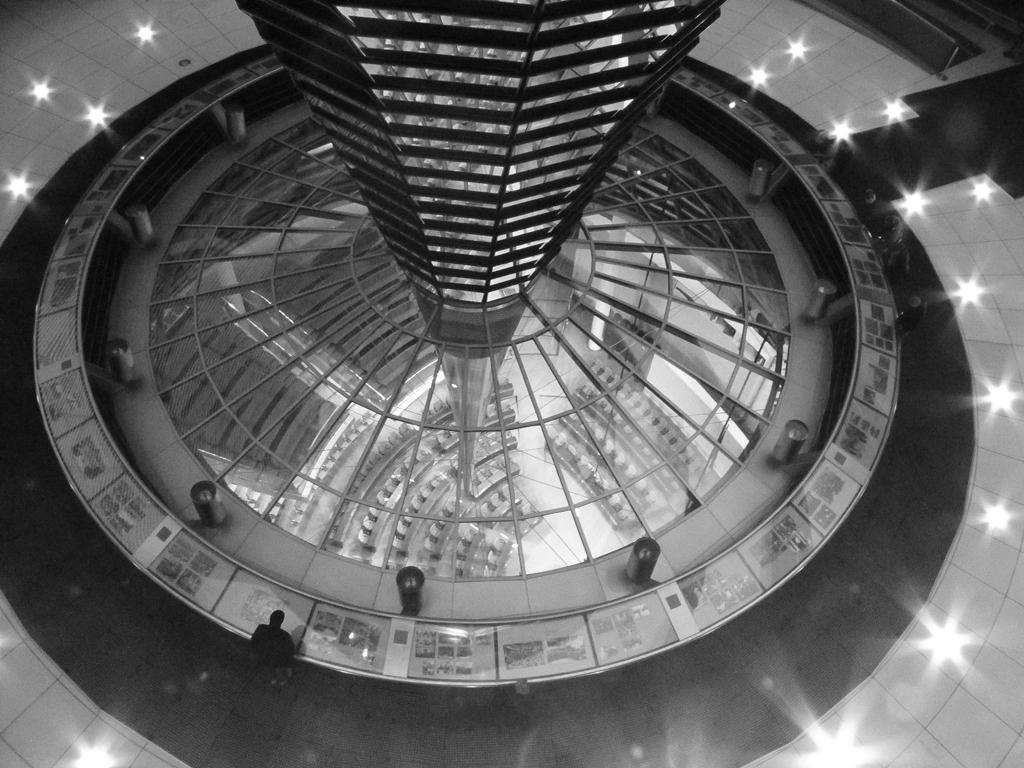 Bundestag in S/W
