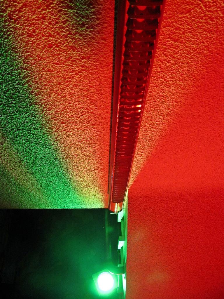 Lichtspiele mit Farbe und Perspektive
