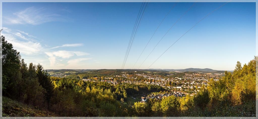 Ausblick auf Geisweid-Wenscht mit Blickrichtung Kindelsberg