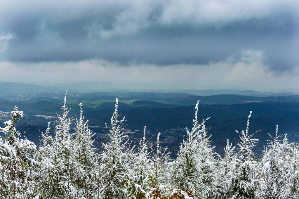 Wintereinbruch auf dem Kindelsberg