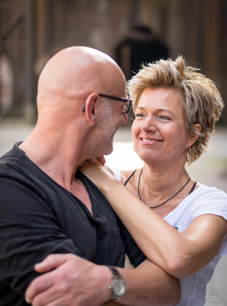 Model: Heike Hilbrand und Robert Herzog